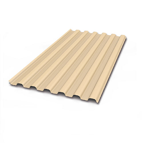 beige roof sheet