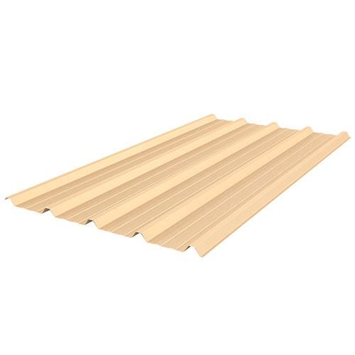 beige roof sheet