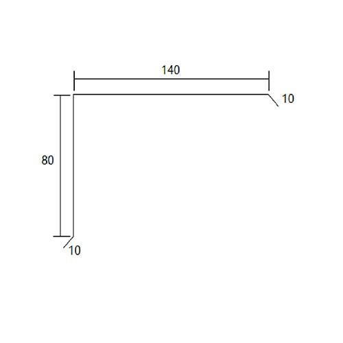 Zincalume barge capping diagram