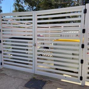 Aluminium Slat Gates & Fencing
